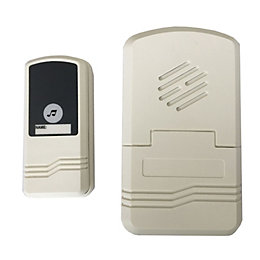 OPP Facet Wireless Ivory White Door Chime