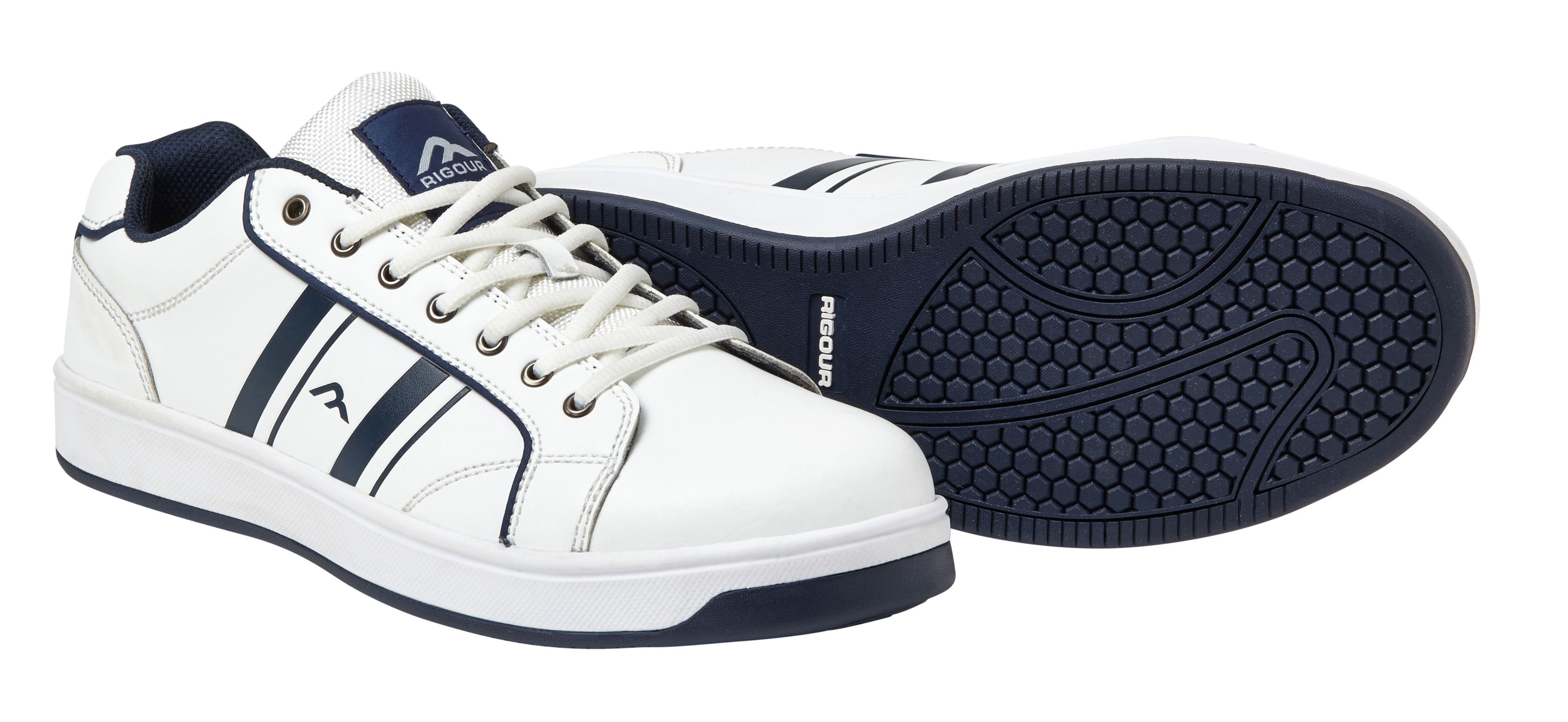 5ff3521c471 Rigour Navy & white Safety trainers, Size 9 | Departments | DIY at B&Q