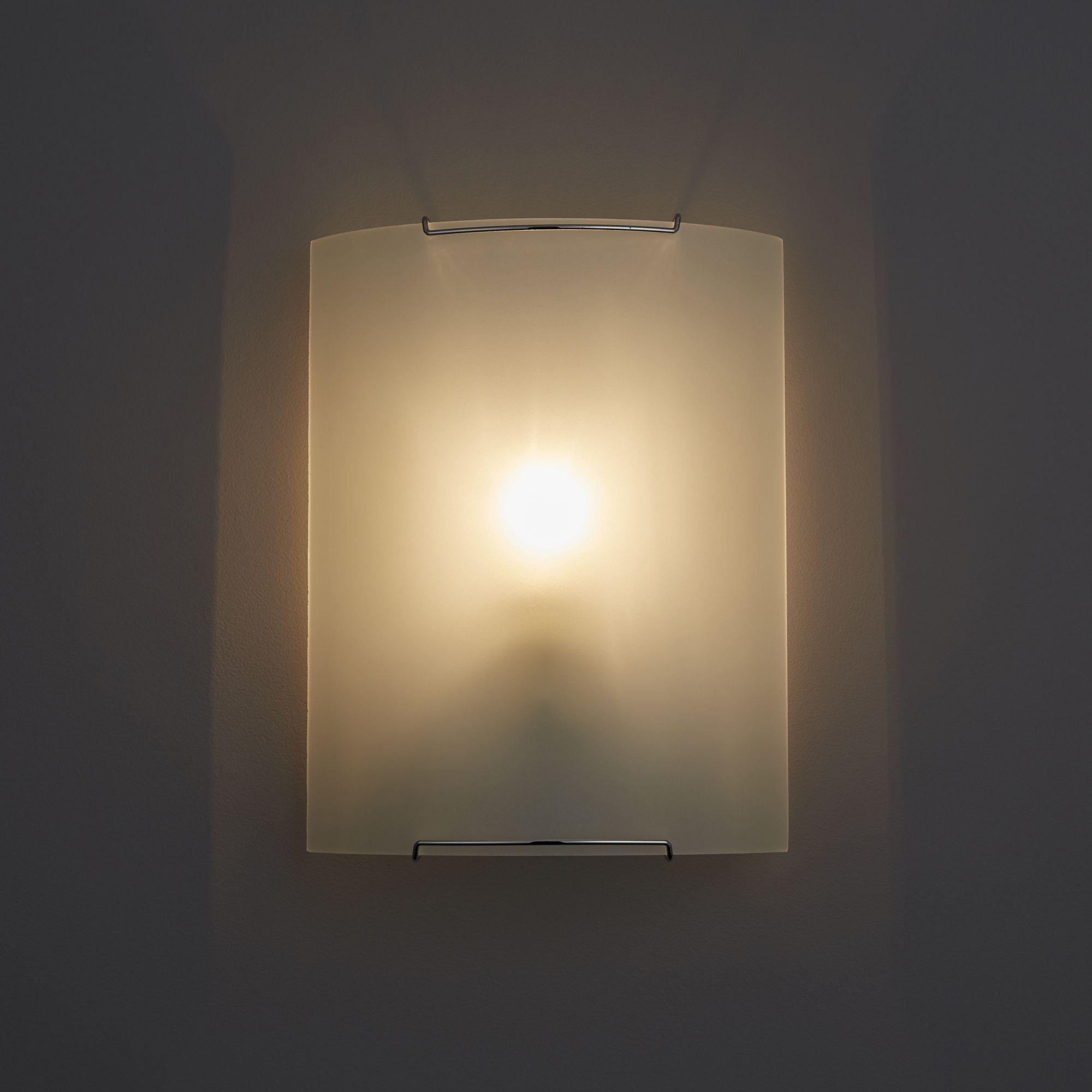 Hilary White Single Wall Light