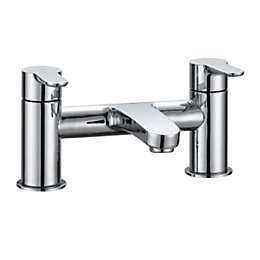 Cooke & Lewis Calista Chrome finish Bath mixer