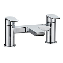 Cooke & Lewis Ricci Chrome Bath mixer tap
