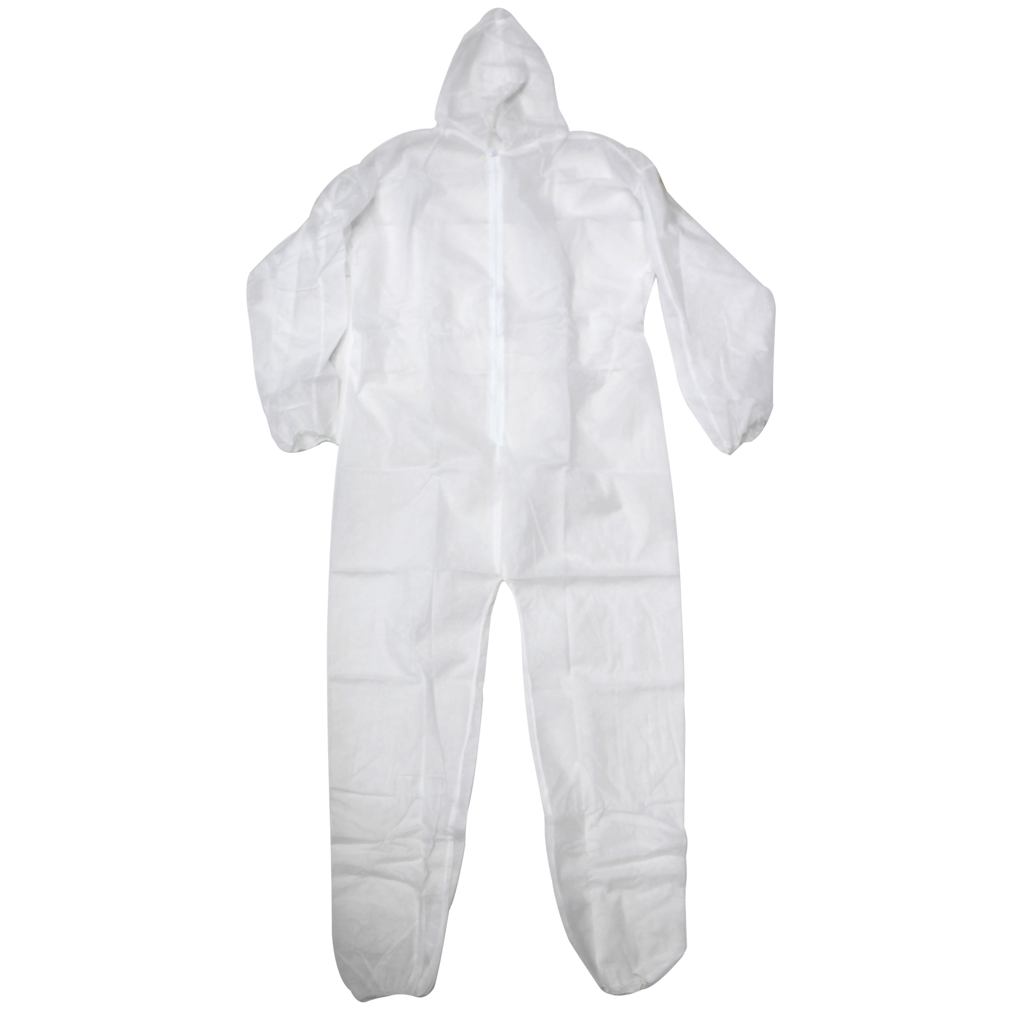 Diall White Disposable Coverall Extra Large Departments