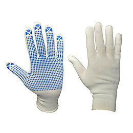 Diall Dotted Gripper Gloves, Size 9, Pair