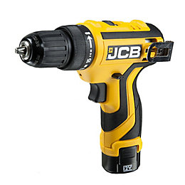 JCB Cordless 12V 1.3Ah Li-Ion Drill Driver 2
