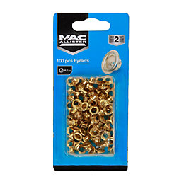 Mac Allister Riveter Eyelets (Dia)5mm, Pack of 100