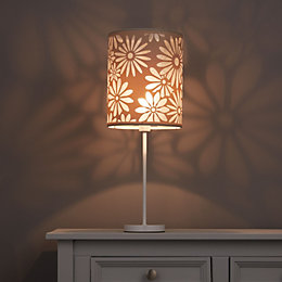Colours Bloom Beige Floral Light Shade (D)200mm