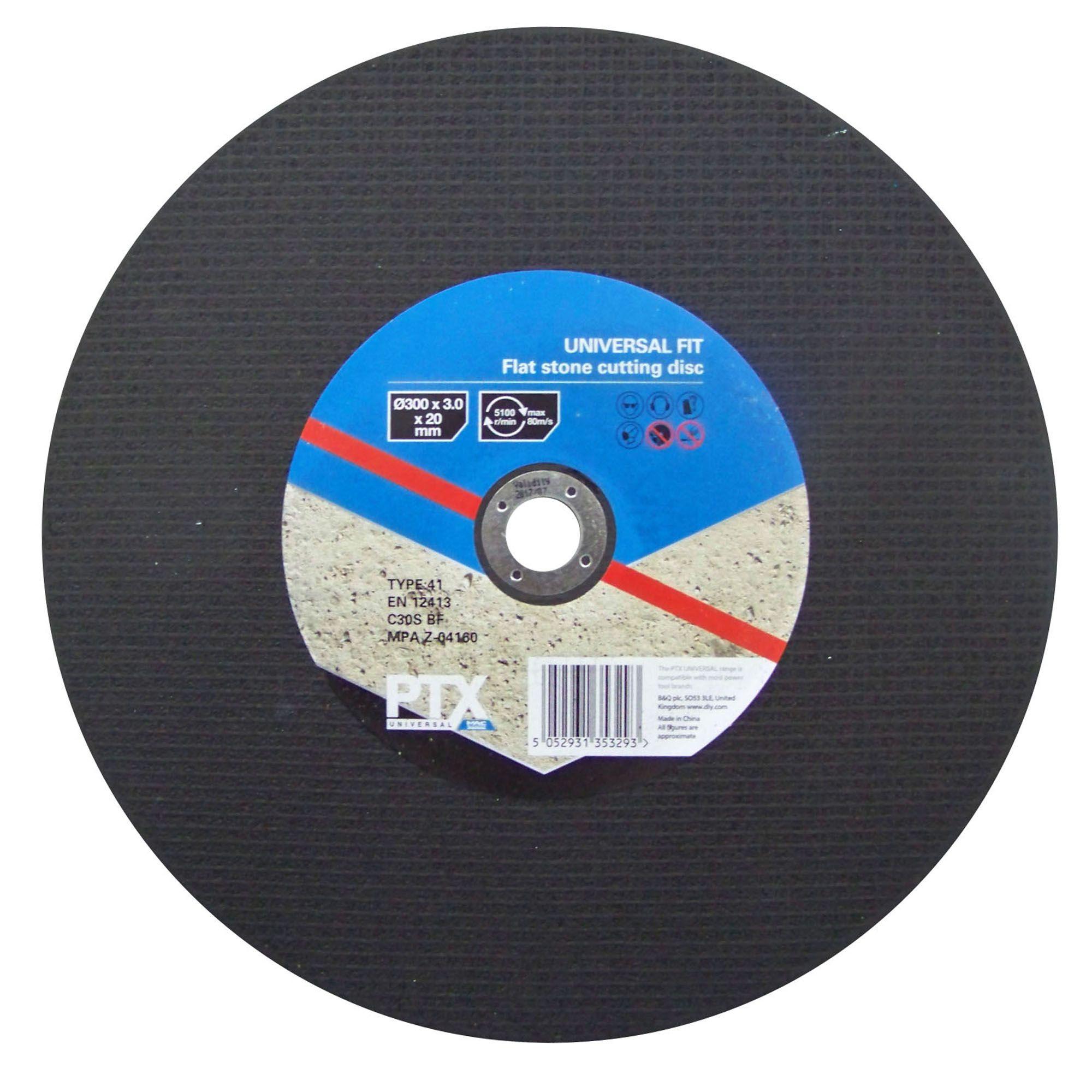 Ptx Dia 300mm Flat Stone Cutting Disc Departments