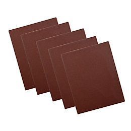 PTX 120 Grit 1/4 Unpunched Sanding Sheet (L)145mm