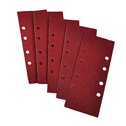 PTX 40 Grit Sanding Sheet (L)185mm (W)93mm, Pack