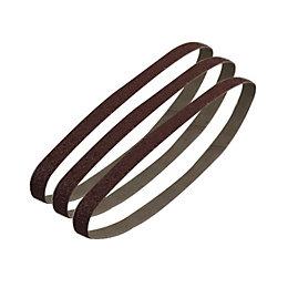 PTX 80 Grit Sanding Belt (W) 13mm (L)