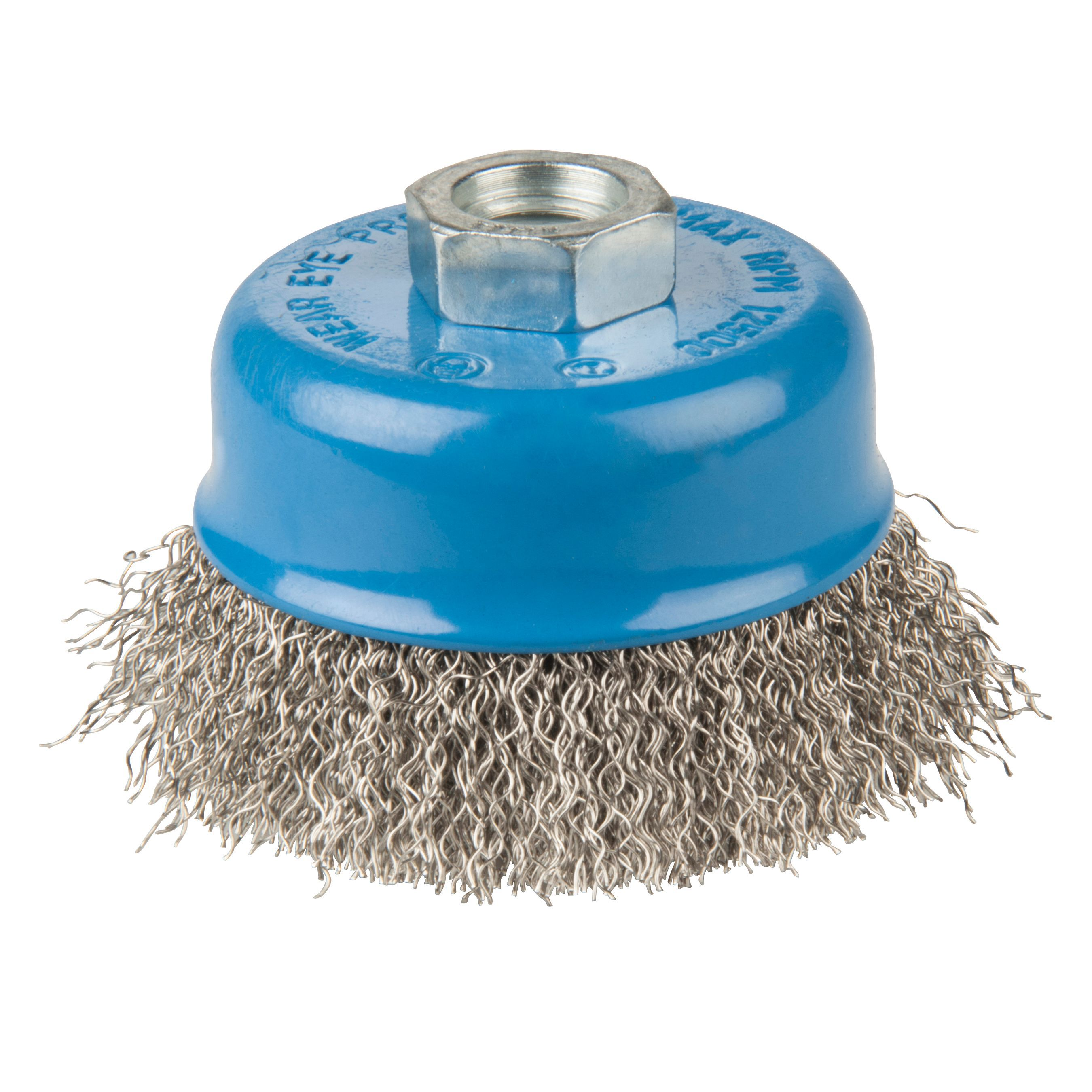 PTX Crimped Wire Brush (Dia)70mm Of 1 | Departments | DIY at B&Q