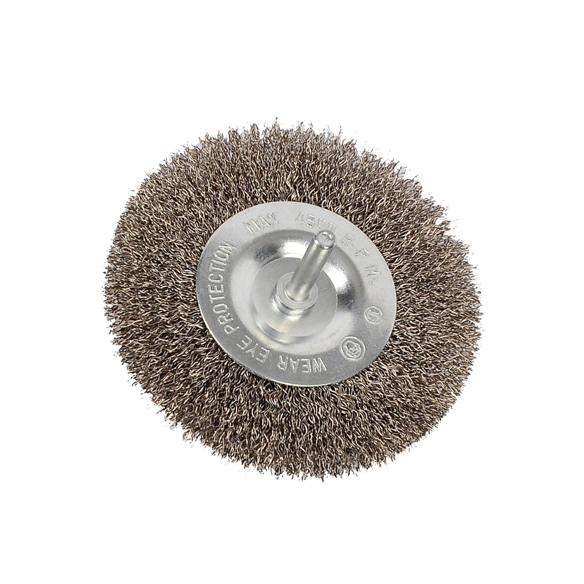 PTX Crimped Wire Brush (Dia)100mm Of 1 | Departments | DIY at B&Q