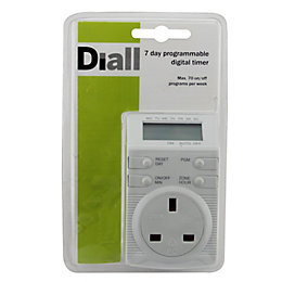 Diall 7 day Electronic timer