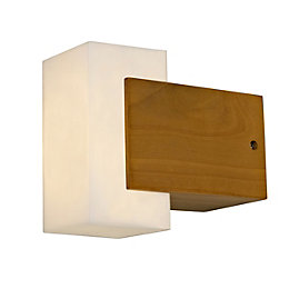 Blooma Conon Natural Mains Powered External Wall Light