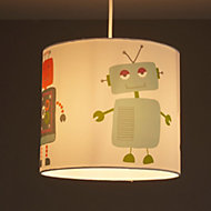 Colours Robots Multicolour Robots Light shade (D)250mm