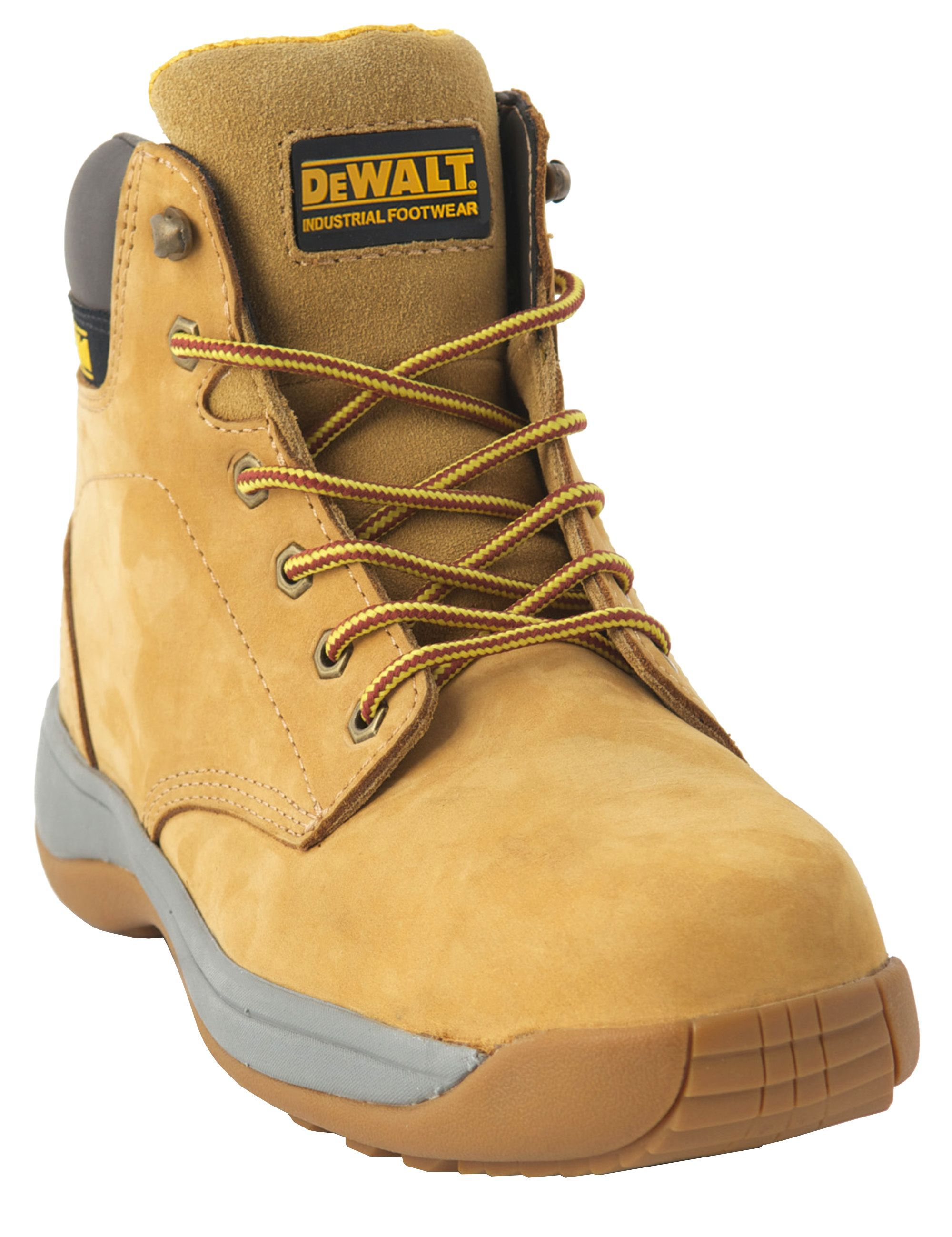 Dewalt Honey Safety Boot Size 7 Departments Diy At B Amp Q