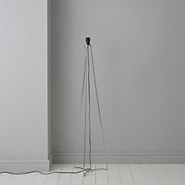 Hioyl Tripod Chrome effect Floor lamp base
