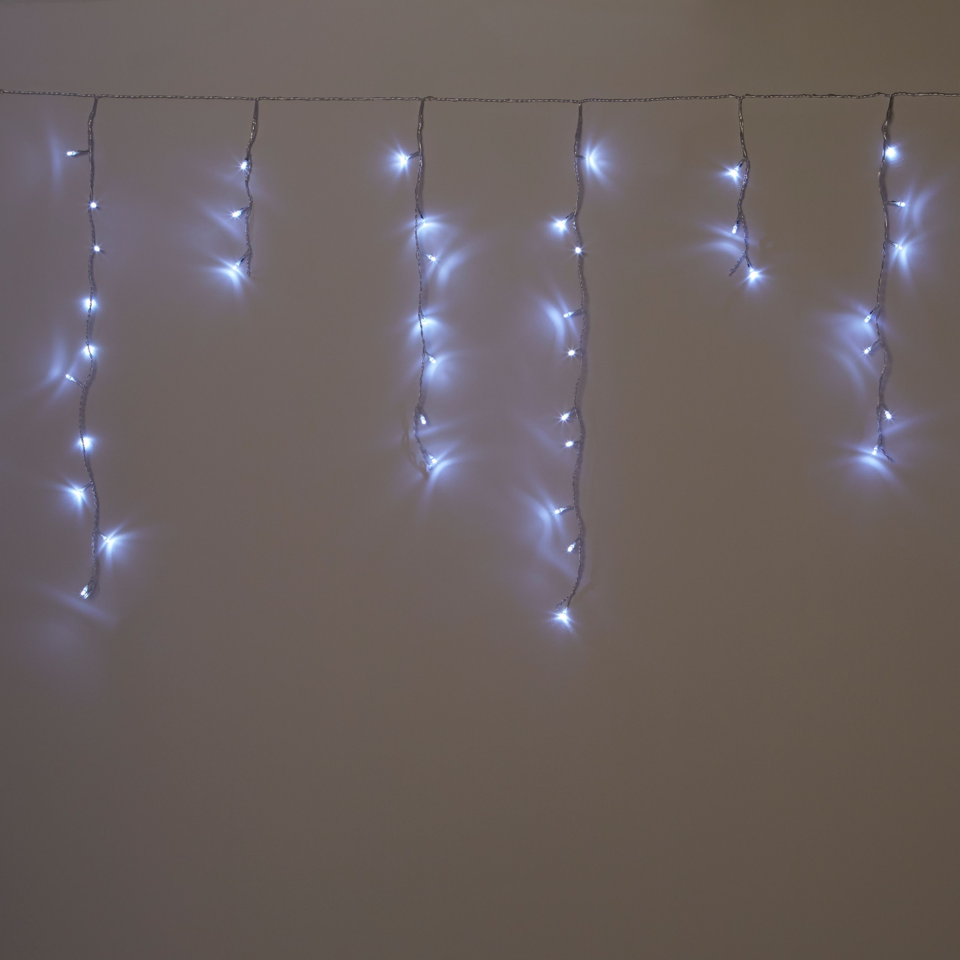 300 White LED Icicle Lights | Departments | DIY at Bu0026Q. & 300 White LED Icicle Lights | Departments | DIY at Bu0026Q