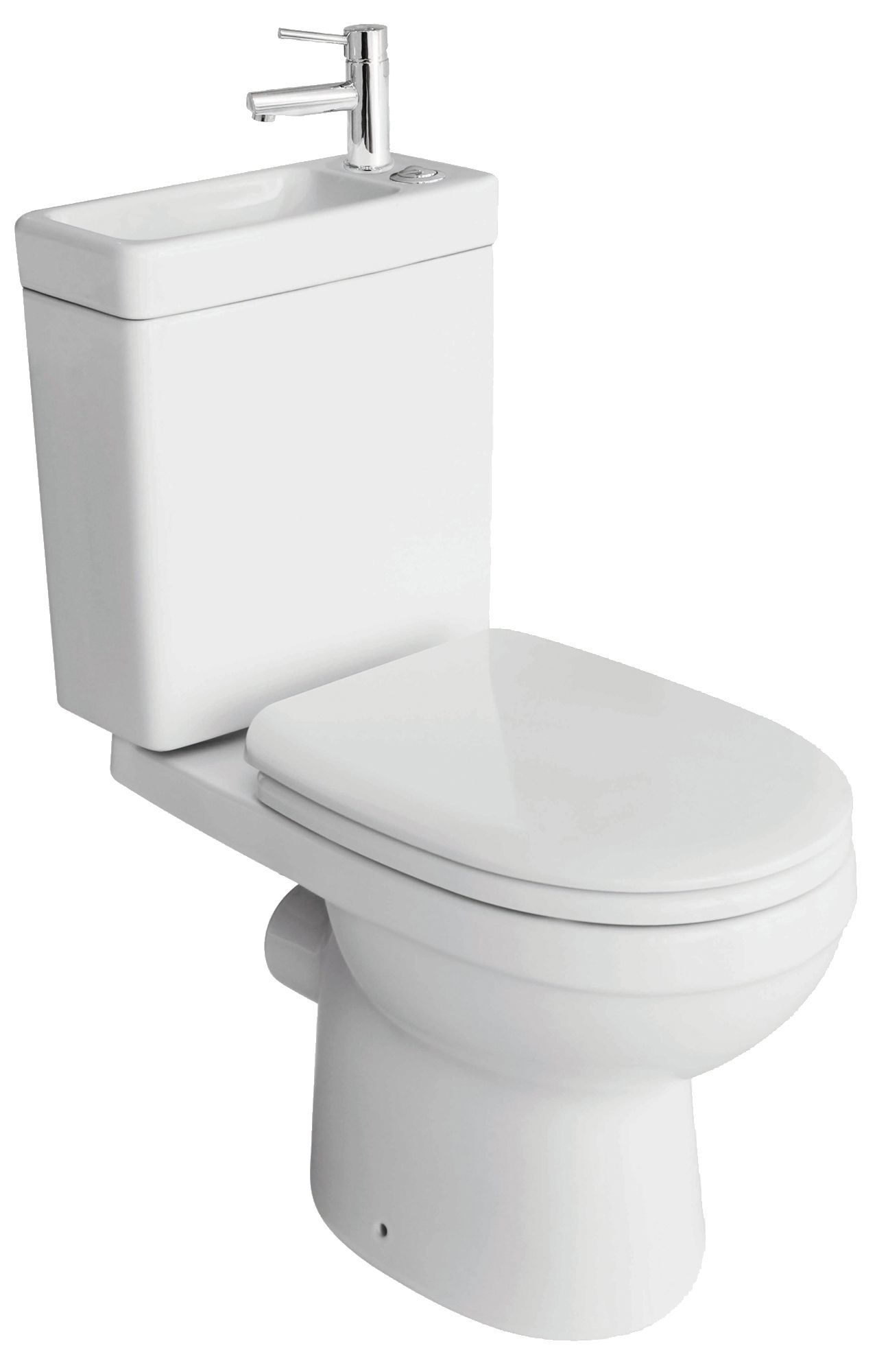 Cooke amp Lewis Duetto Close Coupled Toilet With Integrated