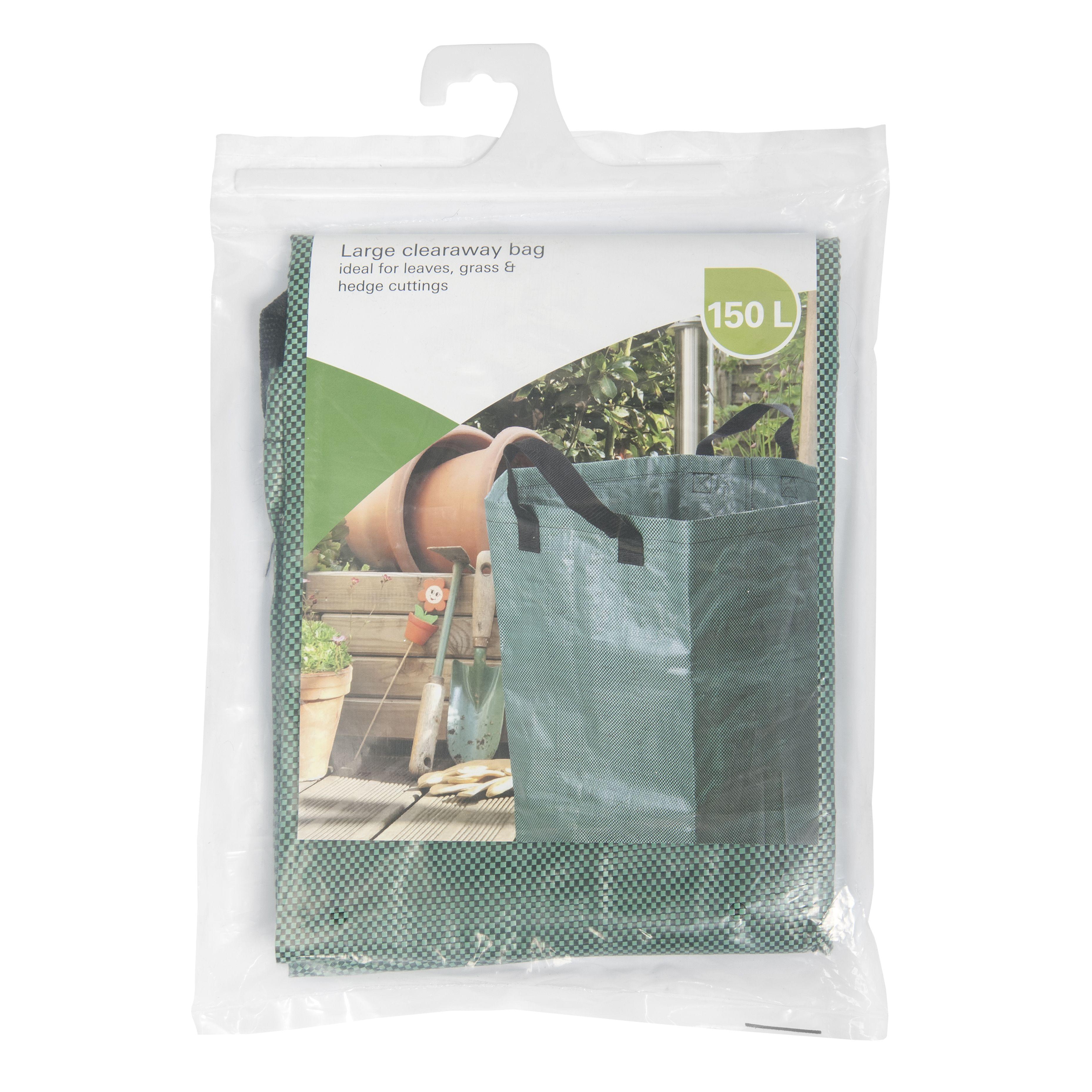 Verve Green Clearaway bag | Departments | DIY at B&Q