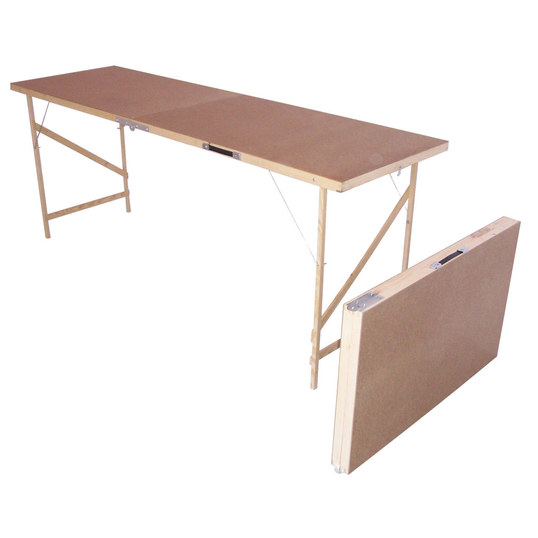 B Q Foldable Paste Table H 740mm W 560mm L 1780mm Departments Diy At B Q