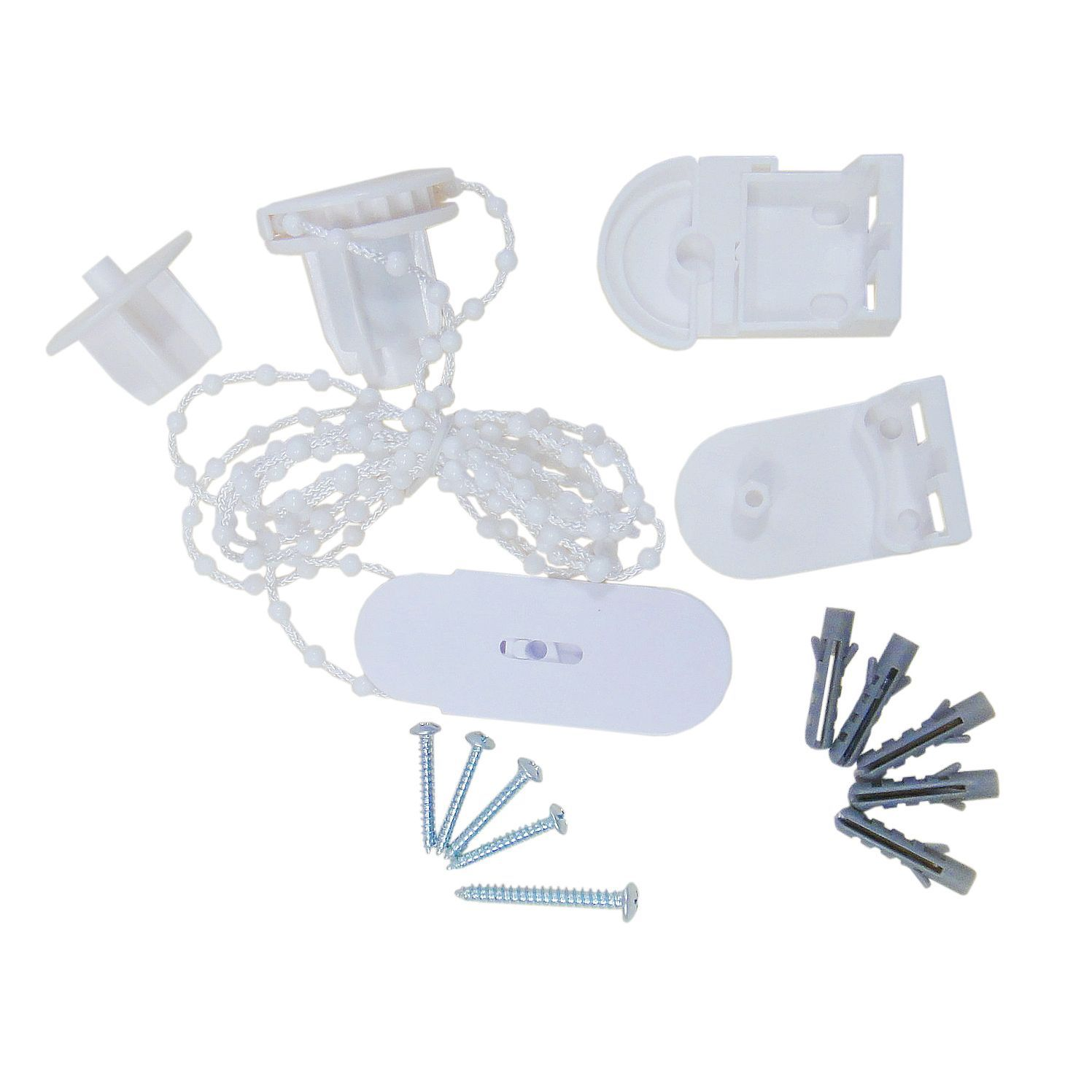 Diall White Fixing Kit For Roller Blinds Departments