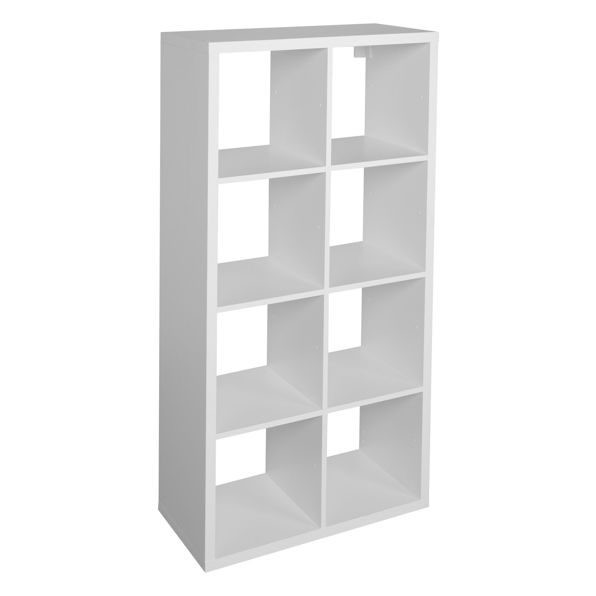 Form Miit White 8 Cube Shelving Unit H 1420mm W 740mm Departments Diy At B Q
