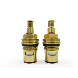 Brass Tap Gland with 1/4 Turn Ceramic Seal