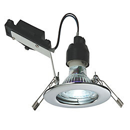 LAP Chrome effect Contractor's downlight 2.5 W IP20,