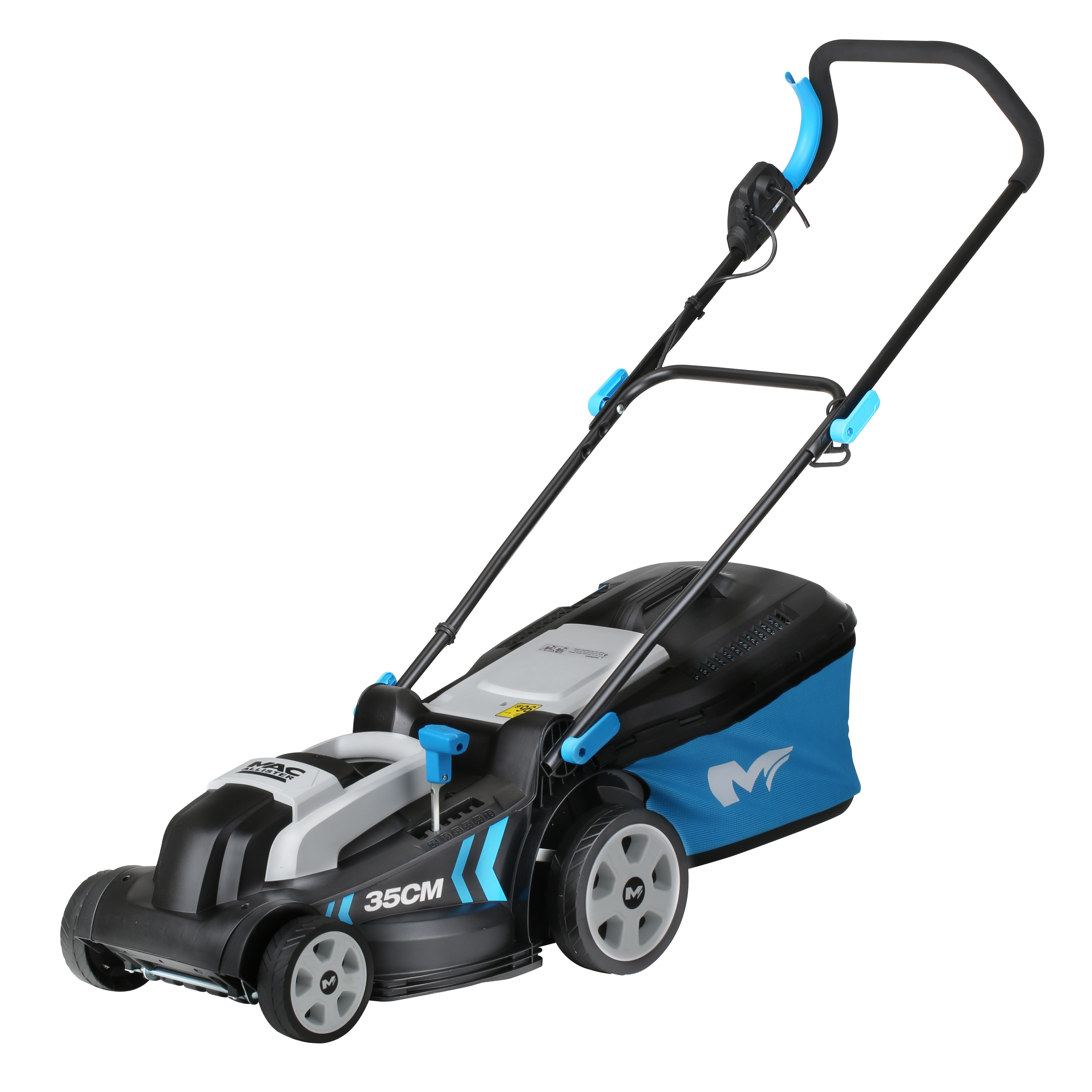mac allister 1300w corded rotary lawnmower departments. Black Bedroom Furniture Sets. Home Design Ideas