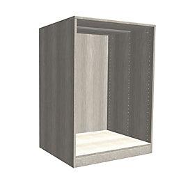 Darwin Modular Grey Oak Effect Chest Cabinet (H)1026mm