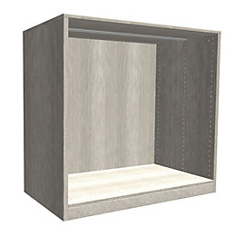 Darwin Modular Grey Oak Effect Chest Cabinet (H)1026mm