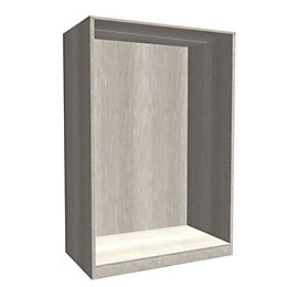 Form Darwin Modular Grey Oak Effect Large Cabinet