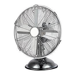 """Blyss 12"""" 3-Speed Desk Fan"""