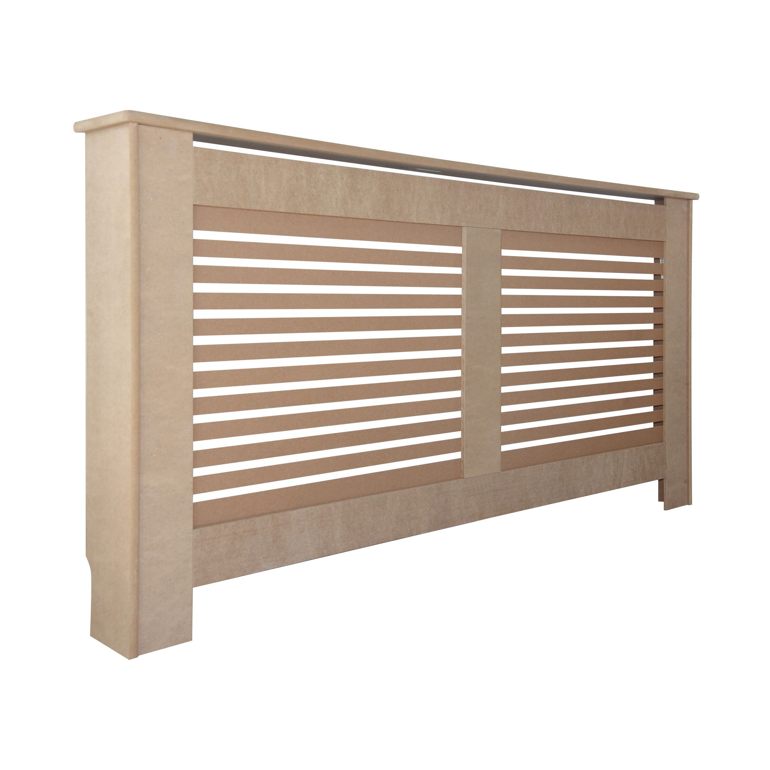 new suffolk large radiator cover departments diy at b q. Black Bedroom Furniture Sets. Home Design Ideas