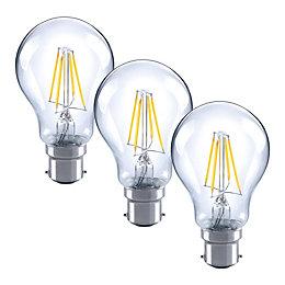 Diall B22 4W LED Filament GLS Light Bulb,
