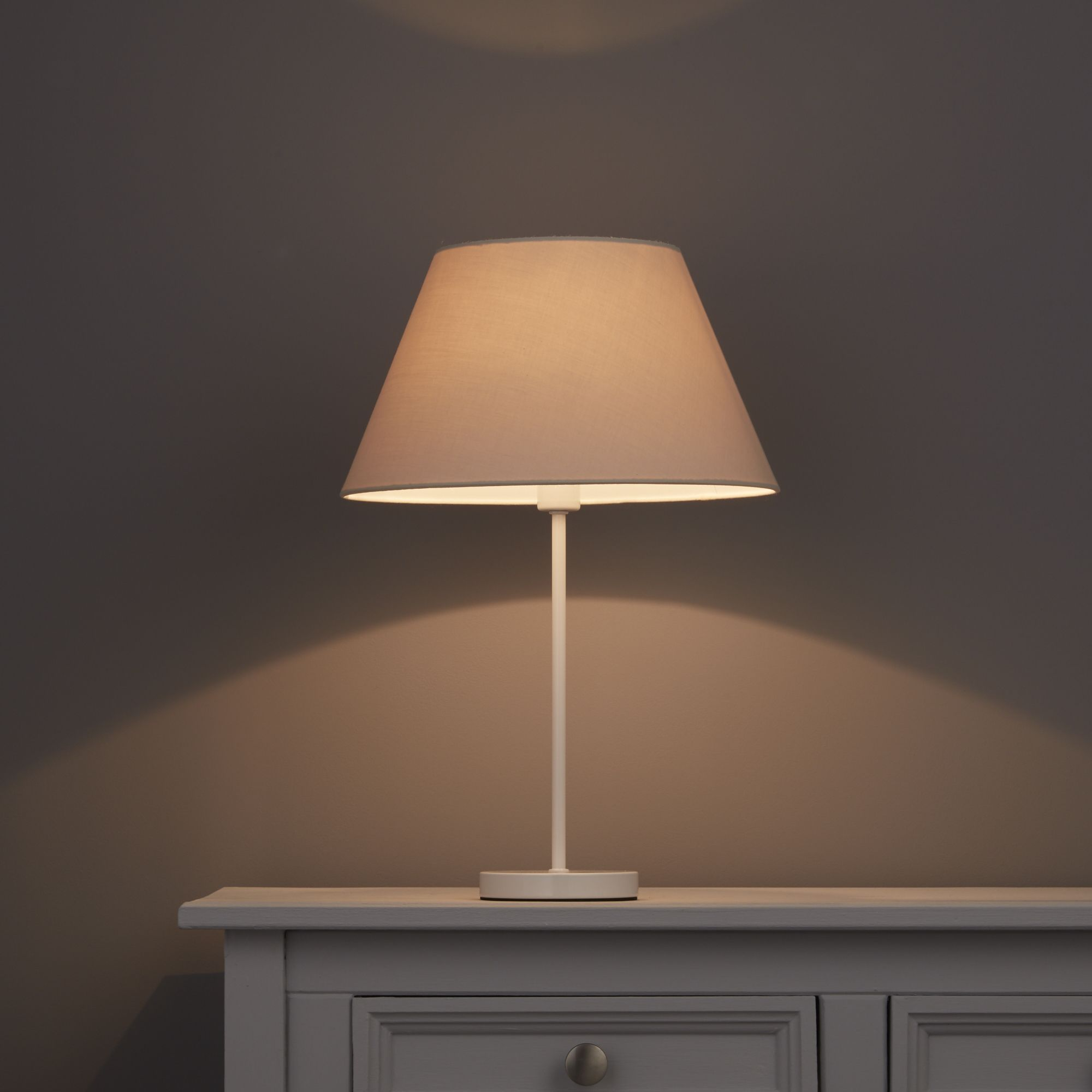 Colours Eos Limestone Light shade (D)305mm