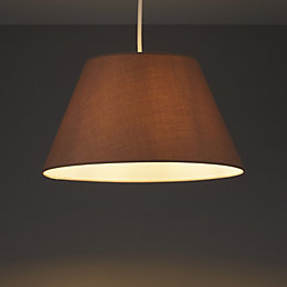 Colours Eos Taupe Light shade (D)305mm