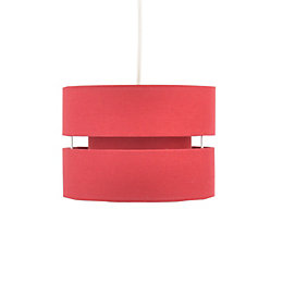 Colours Duo Strawberry 2 Tier Light Shade (D)220mm