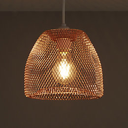 Colours Gatun Copper Wire Light Shade (D)205mm