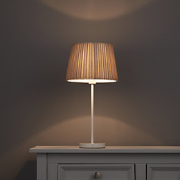 Colours Aubree Mushroom Box Pleat Light Shade (D)210mm