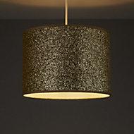 Colours Cirocha Gold Glitter Lamp shade (D)280mm