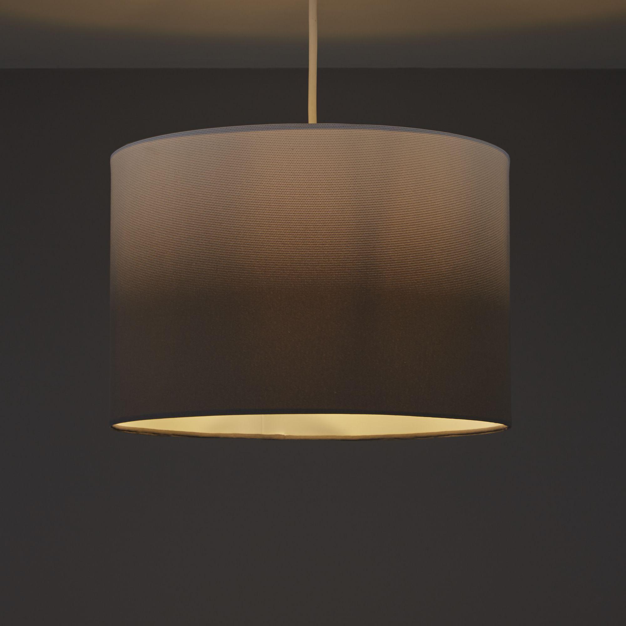 Colours Correze Anthracite Gradient Light Shade (D)300mm
