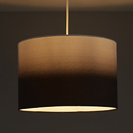 Colours Correze Black Gradient Light Shade (D)300mm