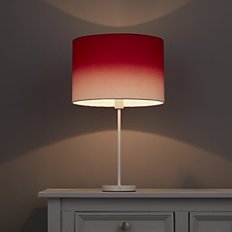 Colours Correze Red Gradient Light Shade (D)300mm