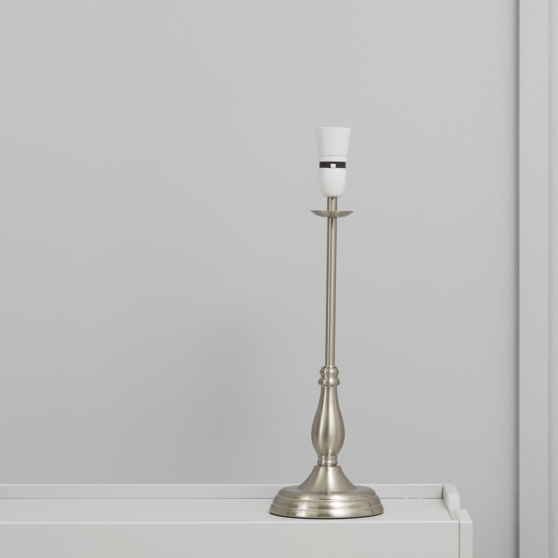Kennidy Satin Nickel Effect Table Lamp Base