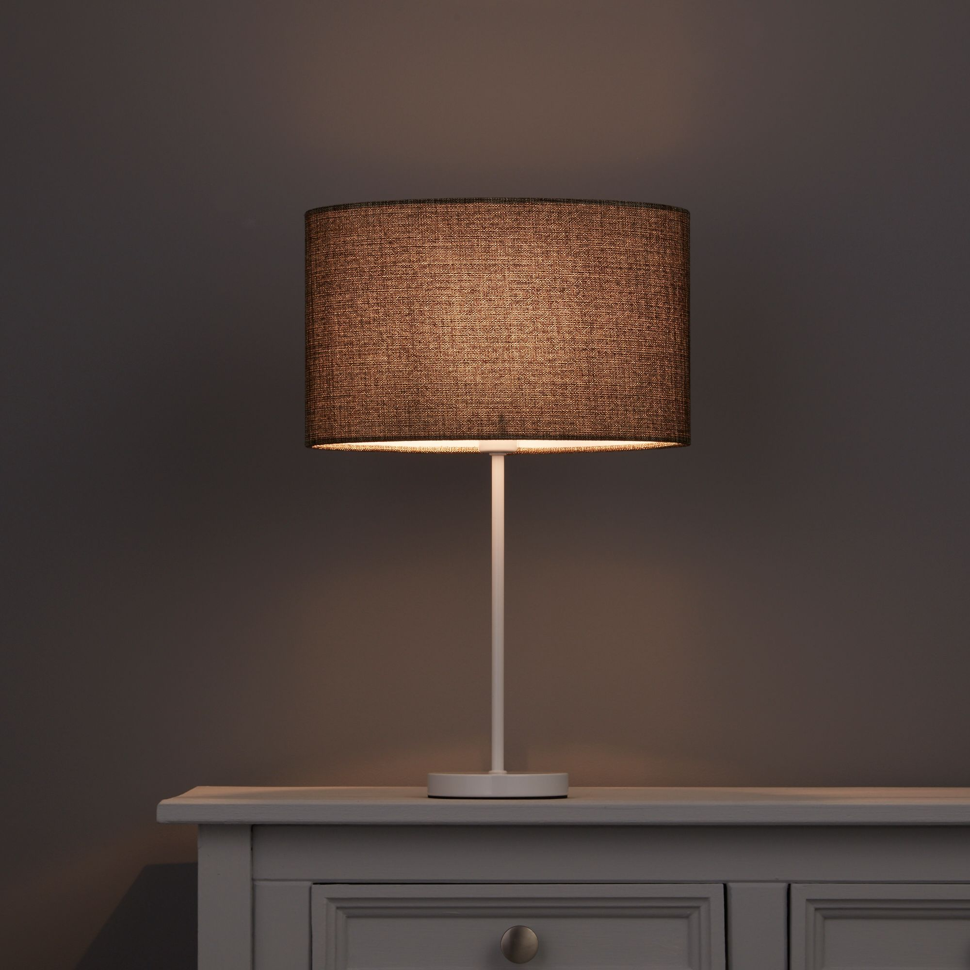 Colours Sadler Oval Brown Metallic Light Shade (D)300mm