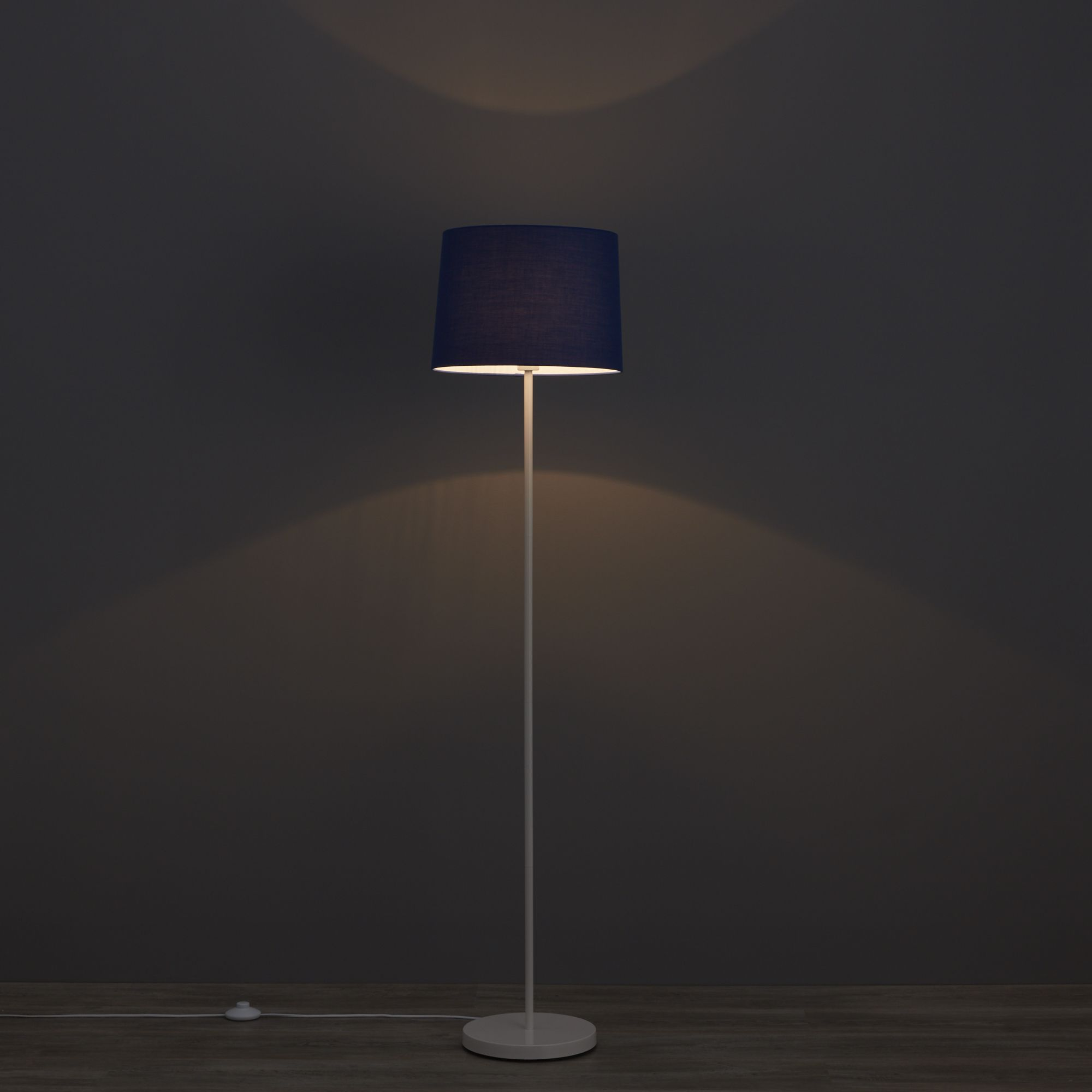 Colours Haine Navy blue Light shade (D)350mm