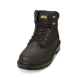 Site Black Marble Boot, size 8