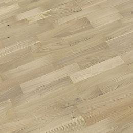 B&Q White Oak effect Wood Top layer flooring